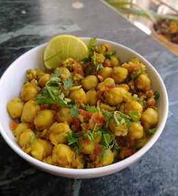 Vegan chickpea salad for weight loss