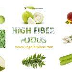 top 50 high fiber foods list