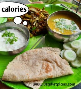 Low calorie meal 2 for better health